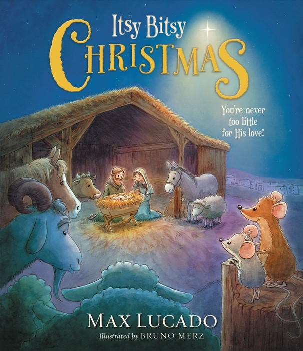 Itsy Bitsy Christmas (Hard Cover)