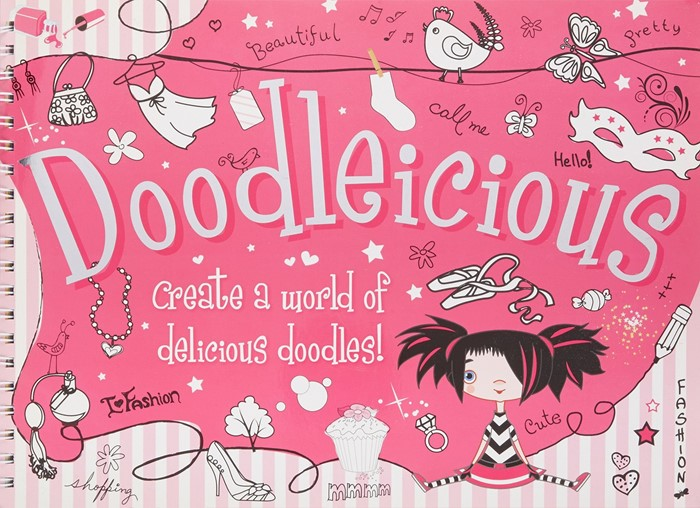 Doodleicious Upsized (Hard Cover)
