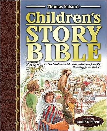The NKJV Children's Story Bible (Hard Cover)