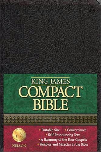 KJV Checkbook Bible (Bonded Leather)