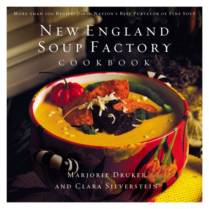 New England Soup Factory Cookbook (Hard Cover)