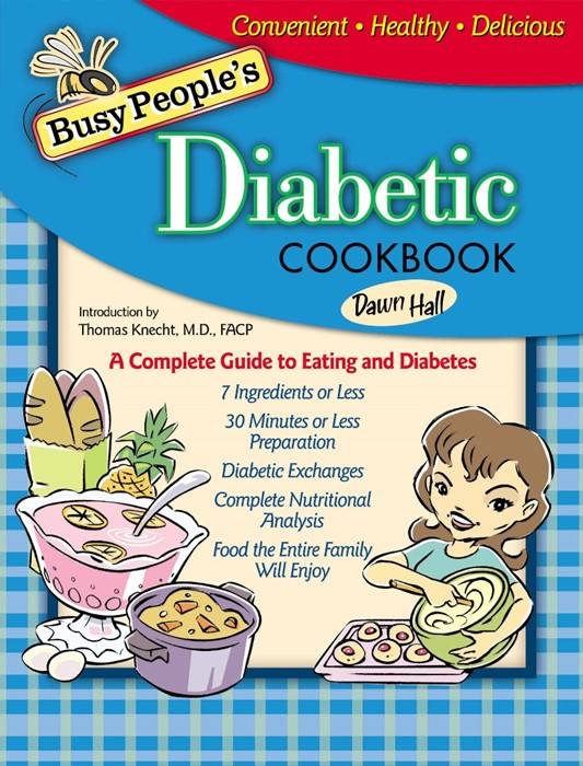 Busy People's Diabetic Cookbook (Hard Cover)