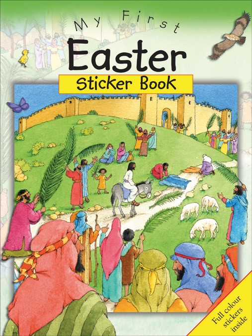 My First Easter Sticker Book (Paperback)