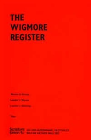 Wigmore Register (Paperback)