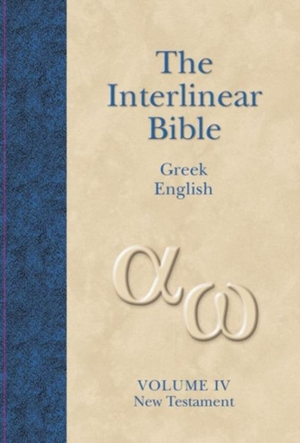 Interlinear NT Greek English Vol 4 (Hard Cover)