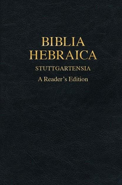 Biblia Hebraica Stuttgartensia (Mass Market)