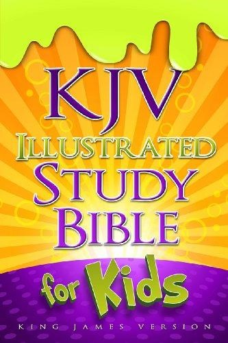 Kjv Illustrated Study Bible For Kids, Hardcover (Hard Cover)