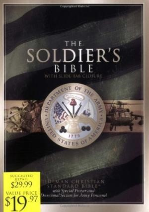 The Soldier's Bible, Green Bonded Leather
