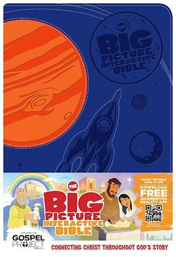 The Big Picture Interactive Bible For Kids Orange/Purple