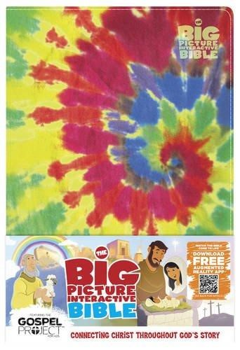 Big Picture Interactive Bible For Kids Multicolor Tie-Die (Imitation Leather)