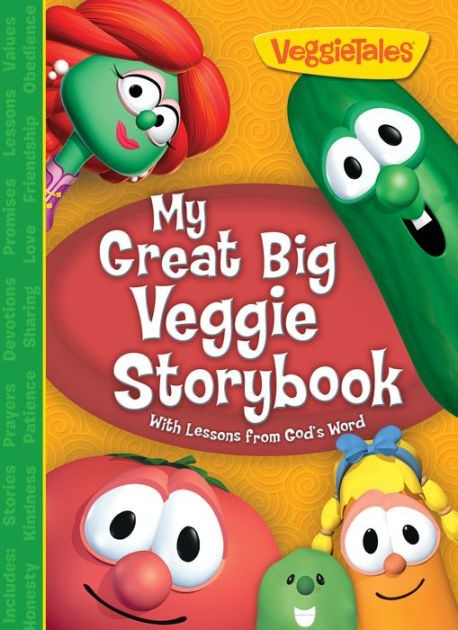 My Great Big Veggie Storybook (Hard Cover)