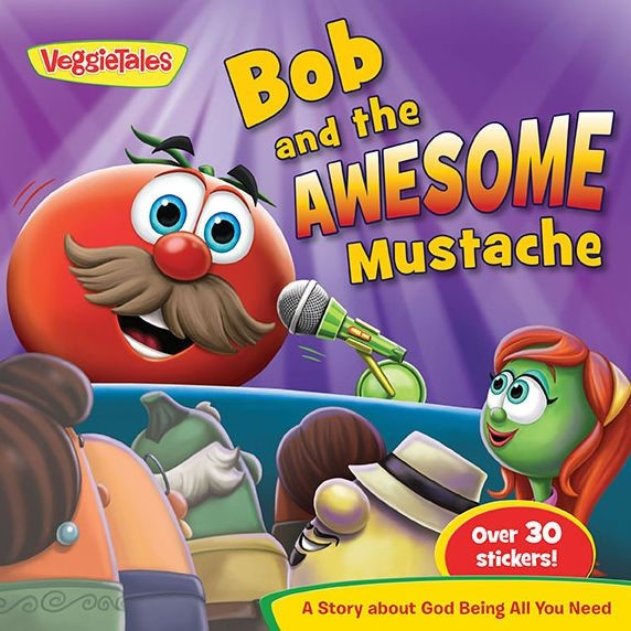 Bob & The Awesome Mustache-Veggietales In The House (Paperback)
