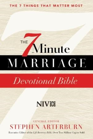 7-Minute Marriage Solution Bible With The New International (Hard Cover)