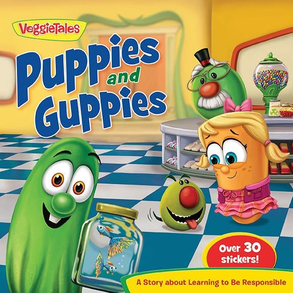 Veggie Tales: Puppies And Guppies (Paperback)