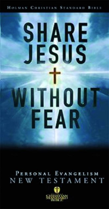 HCSB Share Jesus Without Fear  New Testament (Bonded Leather)