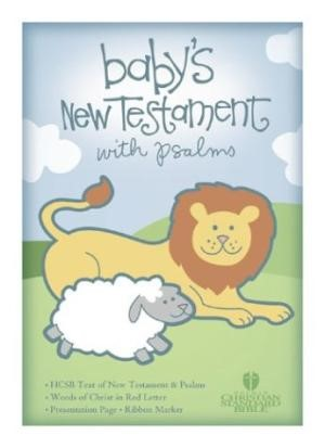 HCSB Baby's New Testament With Psalms, Pink