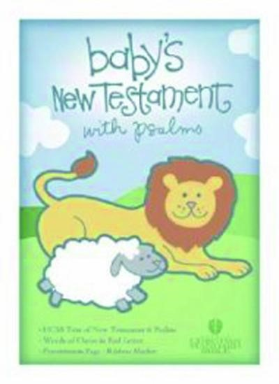 HCSB Baby's New Testament With Psalms, White