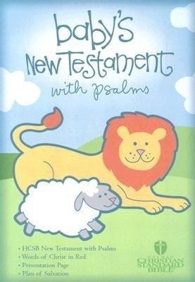 HCSB Baby's New Testament With Psalms, Light Blue Imitation