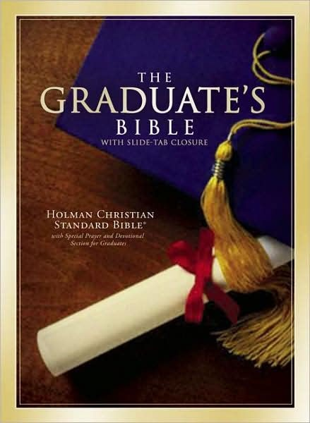 HCSB Graduate's Bible, Burgundy Bonded Leather (Bonded Leather)