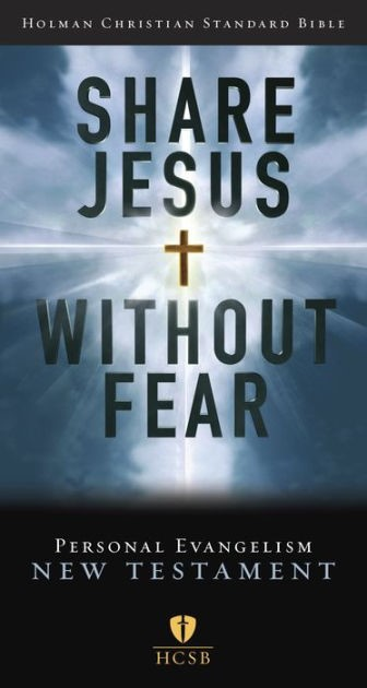 HCSB Share Jesus Without Fear New Testament, Trade Paper (Paperback)