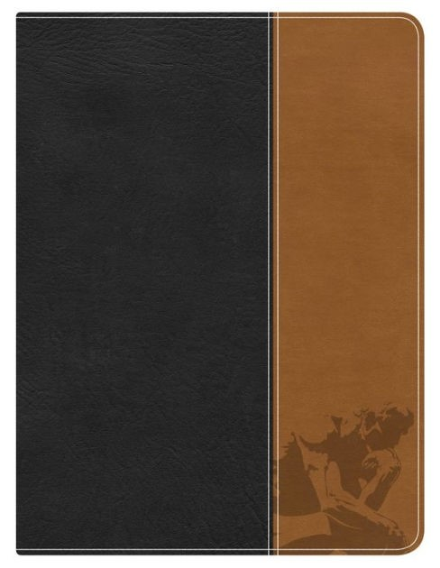 Apologetics Study Bible For Students, Black/Tan Leathertouch (Imitation Leather)