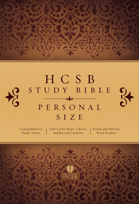 HCSB Study Bible: Personal Size Edition, Hardcover Indexed (Hard Cover)