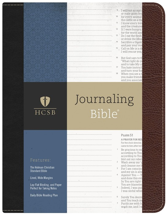 HCSB Journaling Bible® (Bonded Leather)