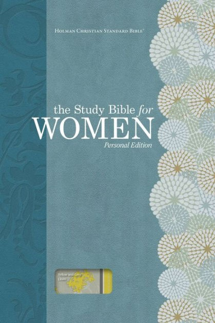 HCSB Study Bible For Women, Personal Size Edition, Yellow (Hard Cover)