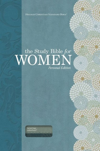 HCSB Study Bible For Women, Personal Size Edition, Teal/Sage (Imitation Leather)