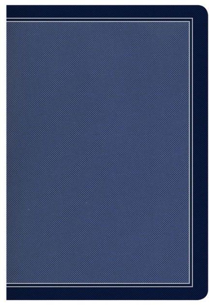 HCSB Compact Ultrathin Bible, Cobalt Blue Leathertouch (Imitation Leather)