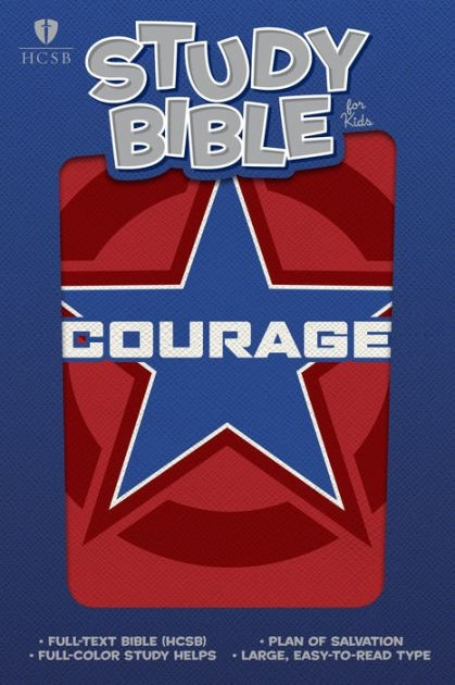 HCSB Study Bible For Kids, Courage Leathertouch (Imitation Leather)