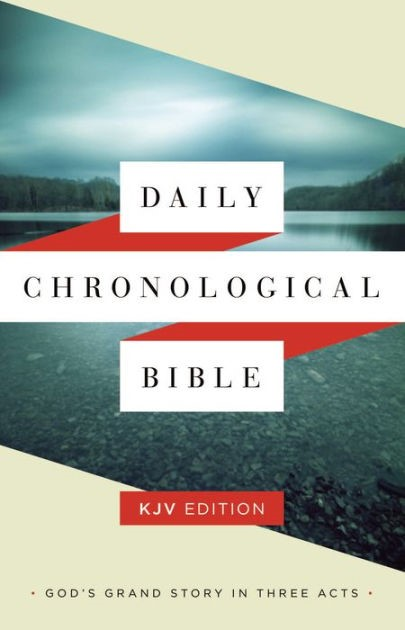 KJV Daily Chronological Bible Trade Paper (Paperback)