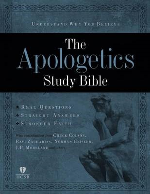 The Apologetics Study Bible, Mahogany Leathertouch (Imitation Leather)