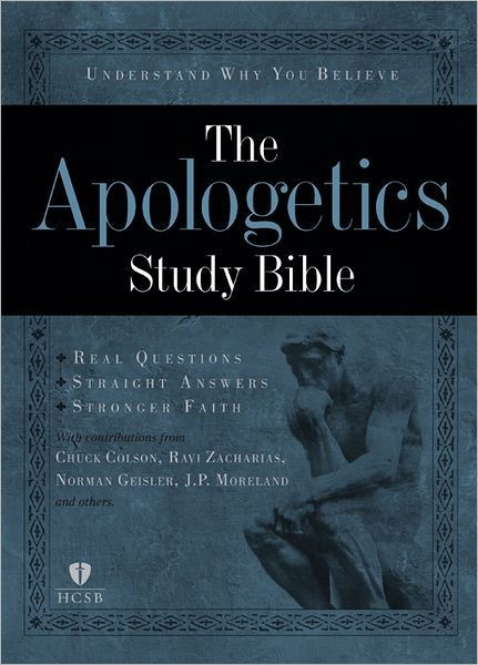 Apologetics Study Bible, Hardcover (Hard Cover)