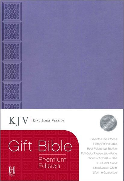 KJV Gift Bible, Purple Leathertouch Premium Edition (Imitation Leather)