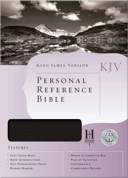 KJV Personal Reference Bible, White Bonded Leather (Imitation Leather)
