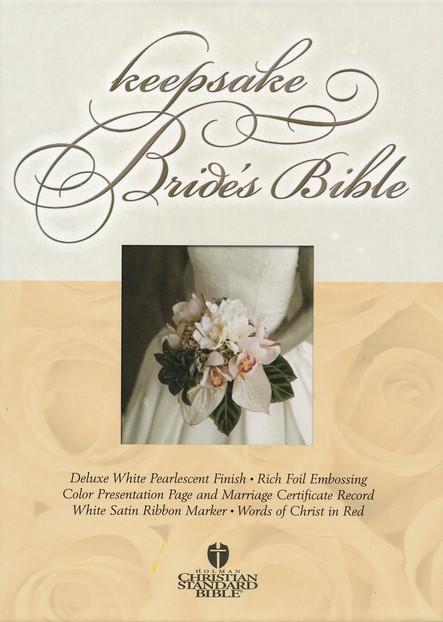 HCSB Keepsake Bride's Bible (Imitation Leather)