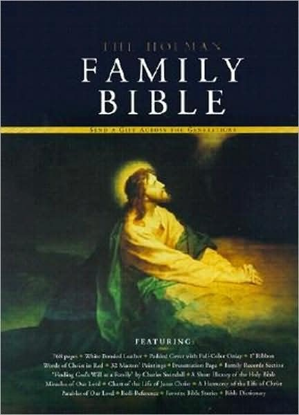 KJV Holman Family Bible, Deluxe Edition, White (Bonded Leather)