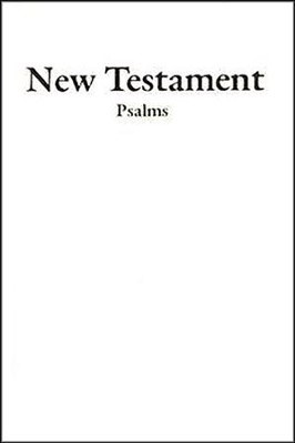 KJV Economy New Testament With Psalms (Imitation Leather)