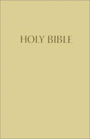 Kjv Pew Bible (Sandstone) (Hard Cover)