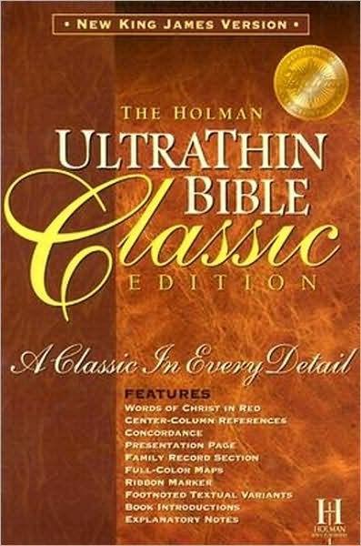 NKJV Ultrathin Classic Slide Tab Bible, Tan (Bonded Leather)