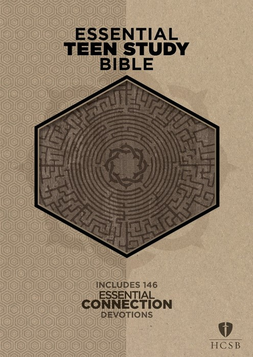 The HCSB Essential Teen Study Bible Gray Cork Leathertouch (Imitation Leather)