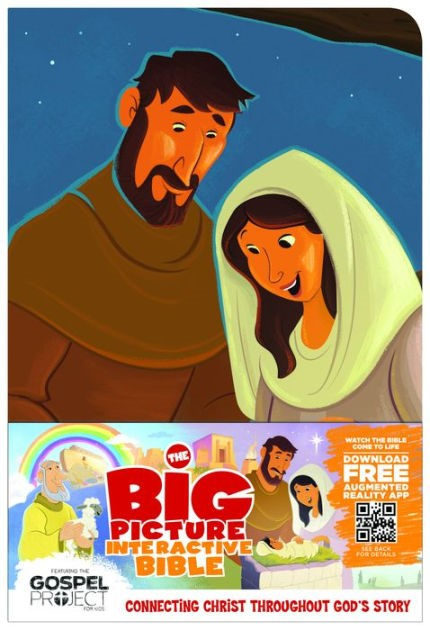 The Big Picture Interactive Bible For Kids Jesus Edition (Imitation Leather)