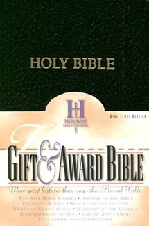 KJV Gift & Award Bible, Black Imitation Leather (Imitation Leather)