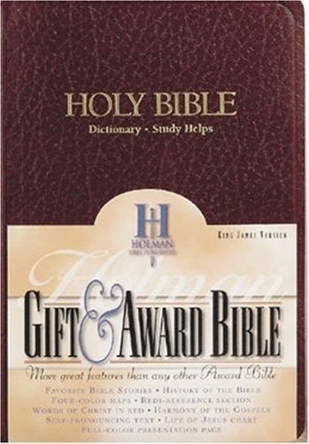 KJV Gift & Award Bible, Burgundy Imitation Leather (Imitation Leather)