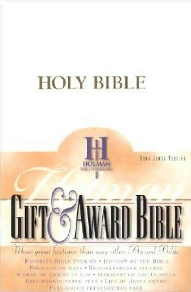 KJV Gift & Award Bible, White Imitation Leather (Imitation Leather)