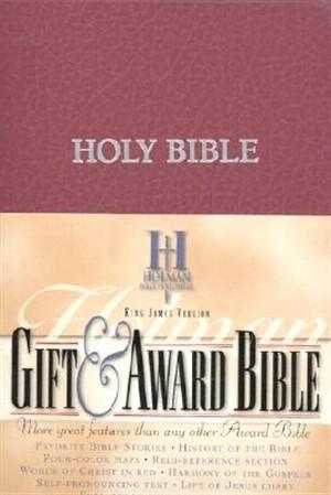 Kjv Gift & Award Bible, Burgundy Imitation Leather (Imitation Leather)