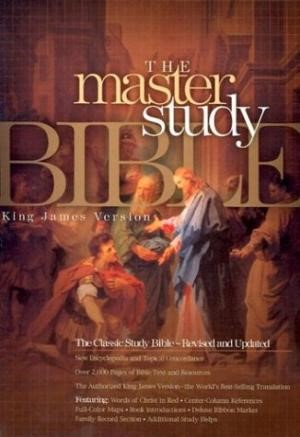 Kjv Master Study Bible, Burgundy Hardcover (Hard Cover)