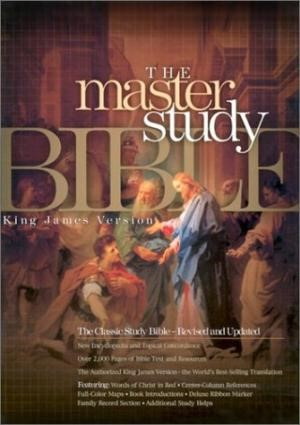 KJV Master Study Bible, Burgundy Genuine Leather (Genuine Leather)