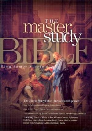 KJV Master Study Bible, Burgundy Bonded Leather (Bonded Leather)